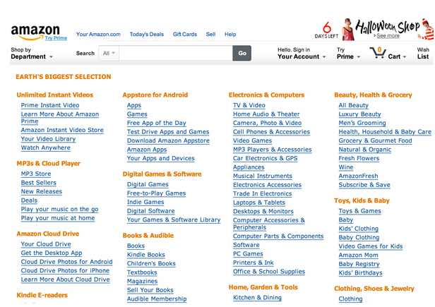 A structural site map is a list of links to the contents of a web site, organized by topic or category