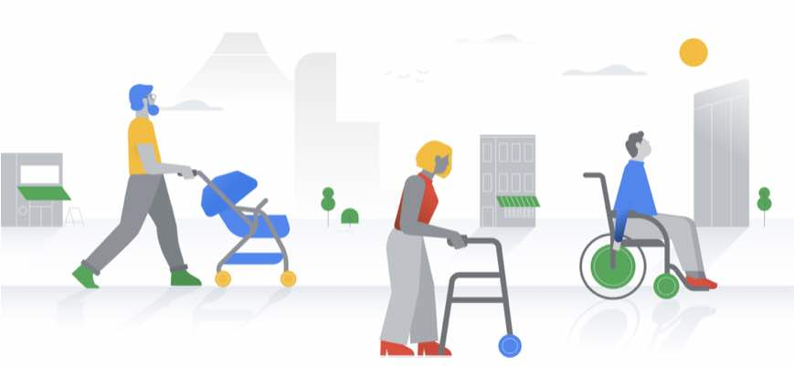 How Google Maps Can Help Find Wheelchair Accessible Places